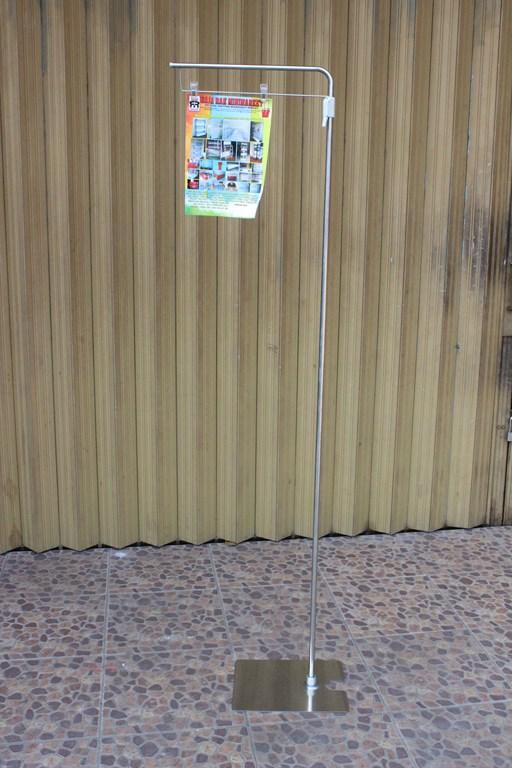 2.STANDING DISPLAY PLAT TARIK | DISPLAY HARGA BARANG