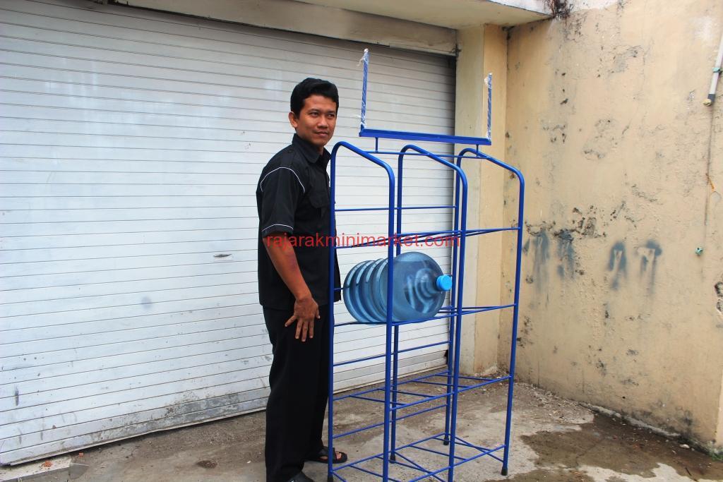 Rak galon Air Aqua Tipe 2