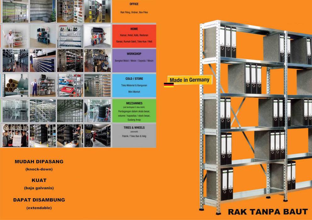 rak besi galvanis | Raja Rak Indonesia