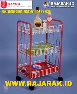 Rak Serbaguna Master Tipe PE033 245x300