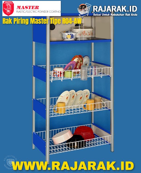 Rak Piring Master R04 AW Blue