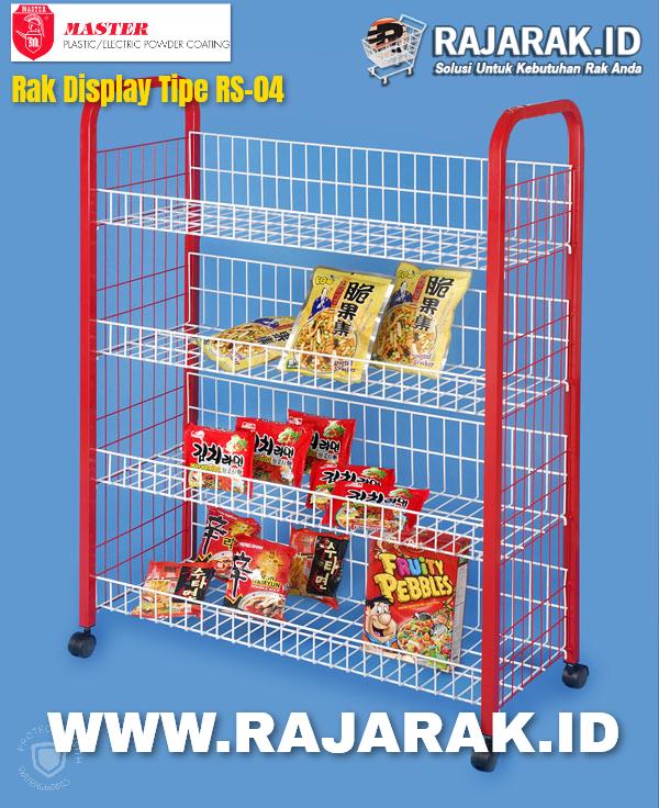 Rak Display Master Tipe RS 04