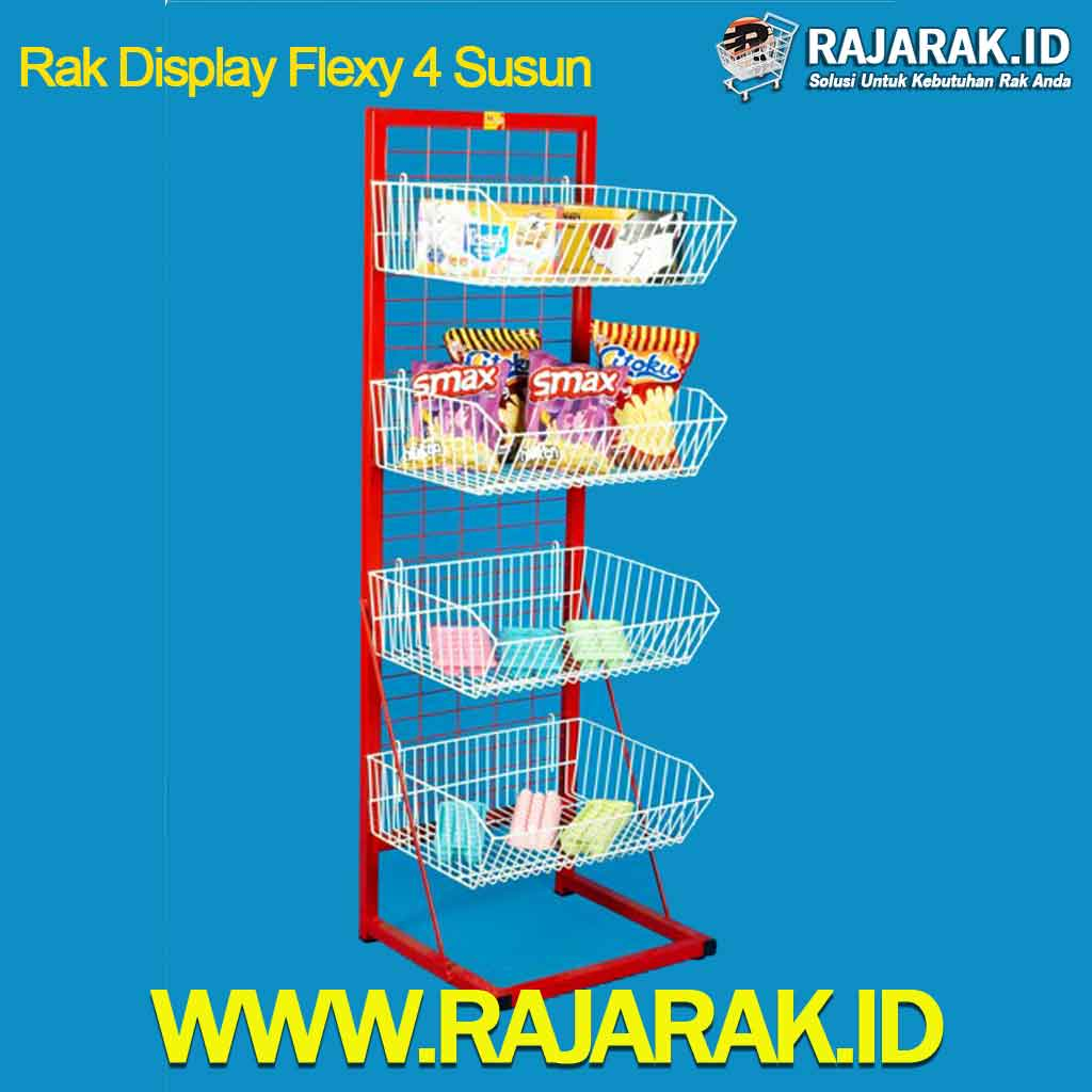 Rak Display Flexy 4 Susun