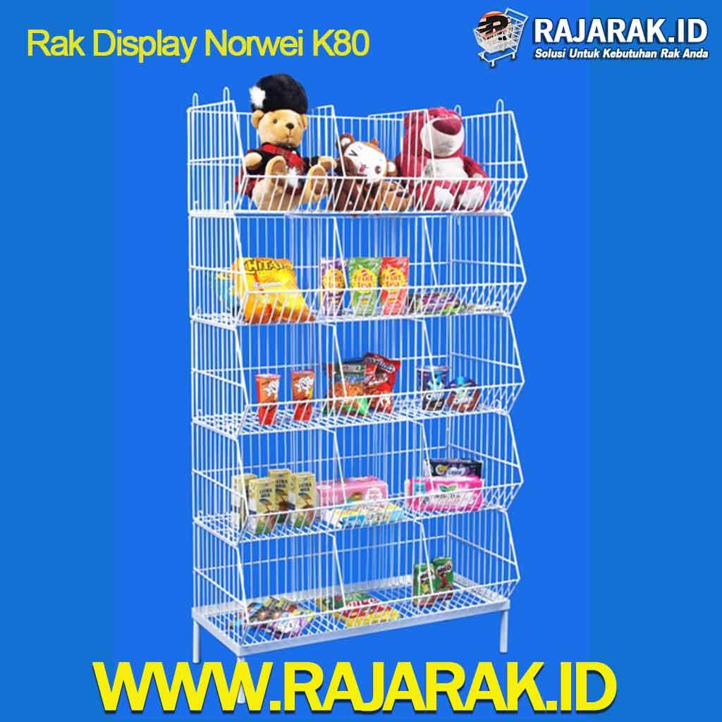 Rak Display Norwei 5 Susun Sekat