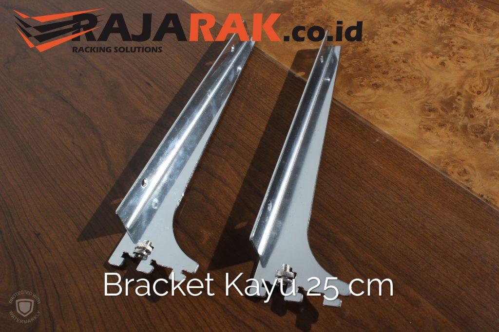 Daun Bracket Kayu 25 cm Tebal 3 mm - Rak Dinding - Rak Kayu