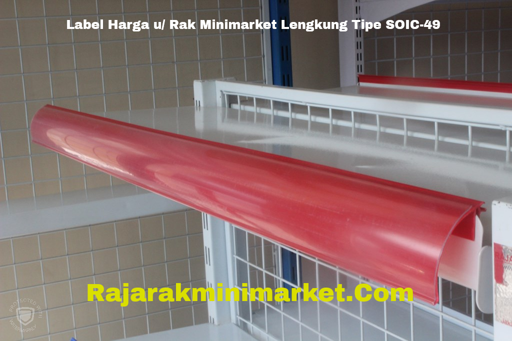Label Harga Minimarket Supermarket Lengkung Tipe SOIC-49