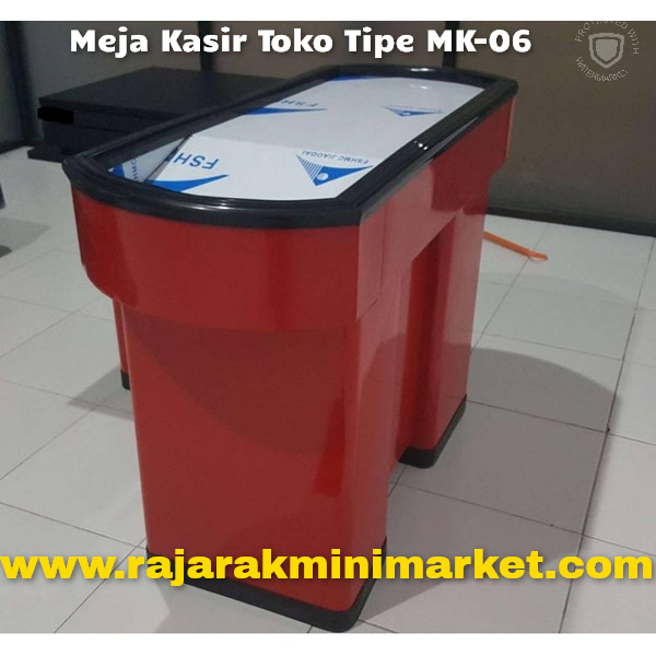 MEJA KASIR TOKO MINIMARKET MODEL BARU TIP MK-06