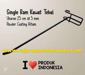 SINGLE RAM 25 CM HITAM / 10 PCS