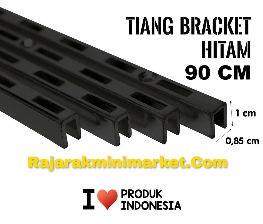 TIANG BRACKET HITAM 90CM