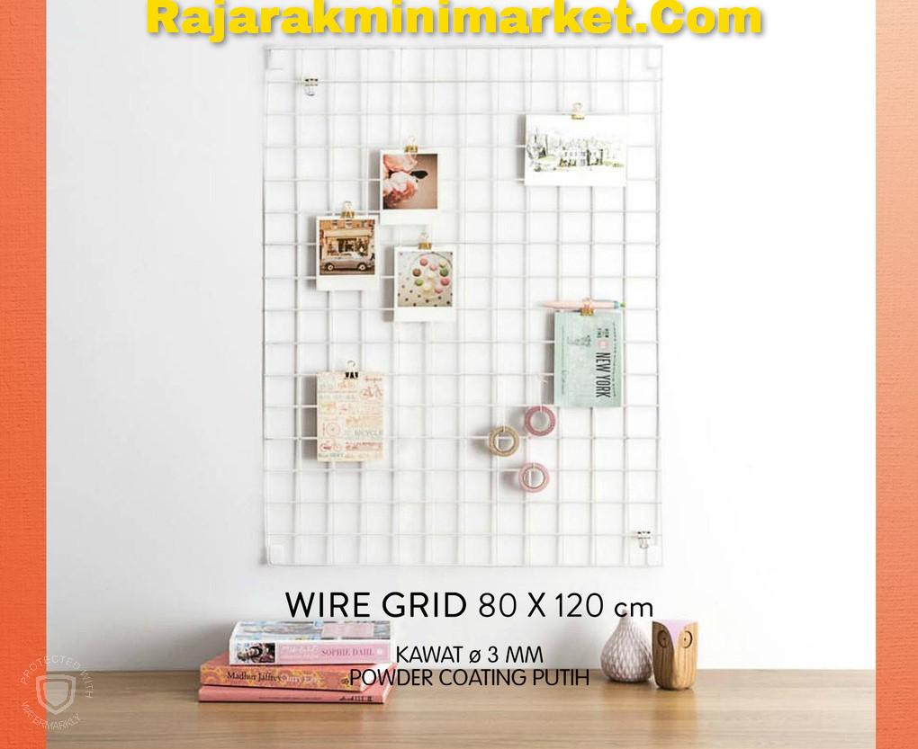 WIREMESH TANPA BINGKAI / WIRE GRID 80X120 CM