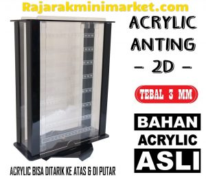 DISPLAY ACRYLIC - AKRILIK ANTING 2D