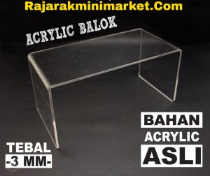 DISPLAY ACRYLIC - AKRILIK BALOK 10CM