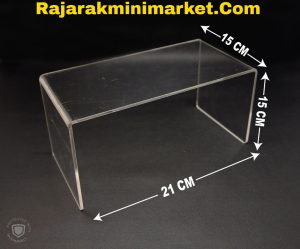DISPLAY ACRYLIC - AKRILIK BALOK 15CM