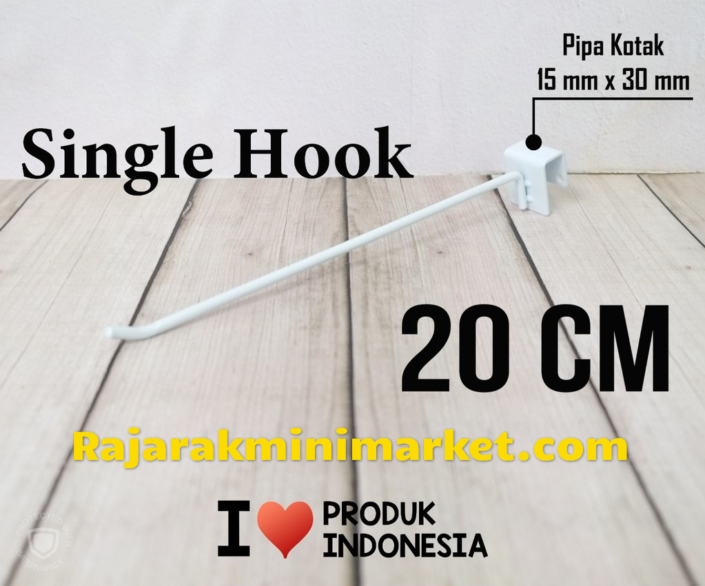 SINGLE HOOK 20CM